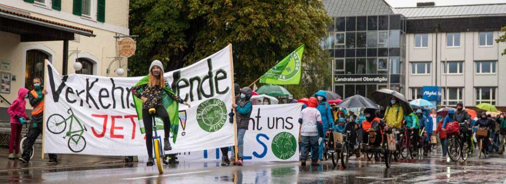 klimastreik sonthofen