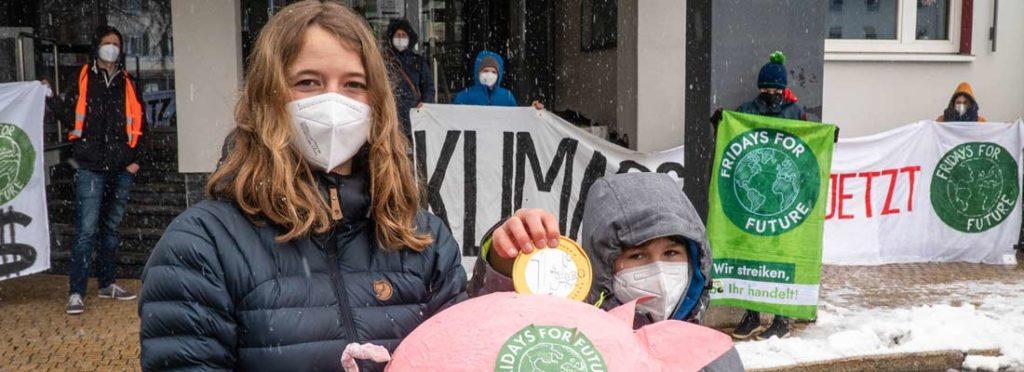 geld für den klimaschutz